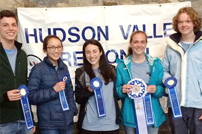 Recipients of Hudson Valley Regional Envirothon 2017